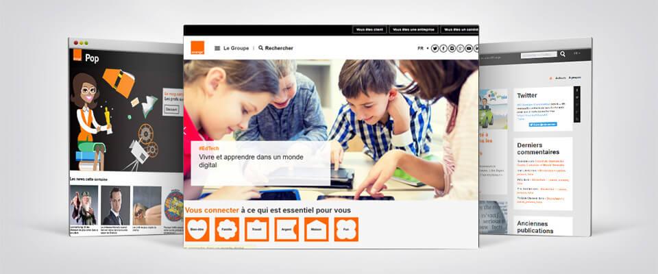 Illustration de l'audit de sécurité pour Orange par Laurent Olivares Consultant Internet à Nantes