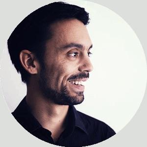 Laurent Olivares de profil