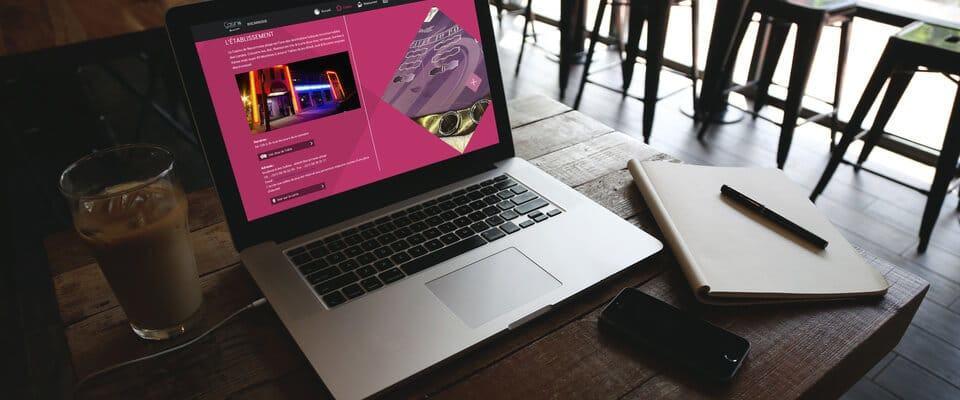 Mise en situation d'un site du Groupe COGIT par Laurent Olivares Consultant Internet à Nantes